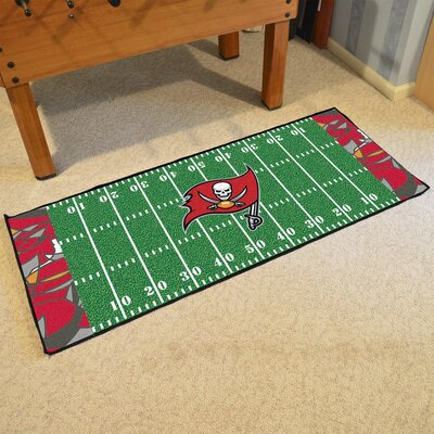 NFL Green Area Rug Team: Tampa Bay Buccaneers