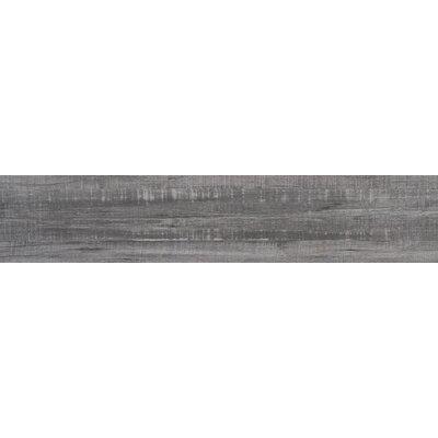 Belmond Mercury 8 x 40 Ceramic Wood Look Tile in Gray