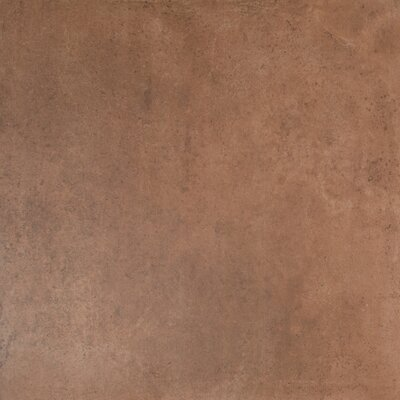Capella Clay 24 x 24 Porcelain Field Tile in Brown