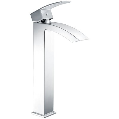 Tutti Single Hole Single Handle Bathroom Faucet with Drain Assembly Finish: Polished Chrome