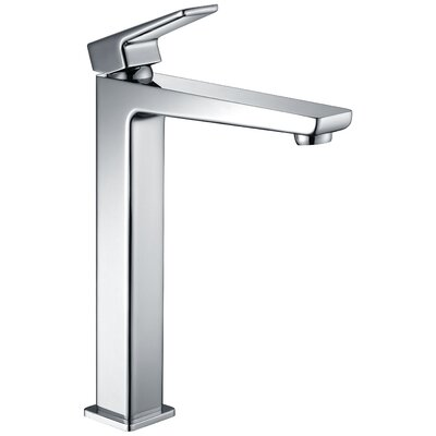 Valor Single Hole Single Handle Bathroom Faucet with Drain Assembly Finish: Polished Chrome