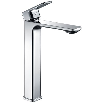 Vibra Single Hole Single Handle Bathroom Faucet with Drain Assembly L-AZ103