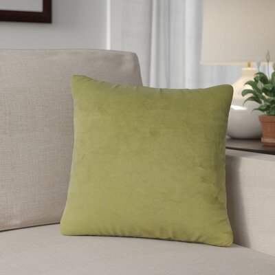 Mattingly Throw Pillow Size: 20 H x 20 W x 4 D, Color: Moss