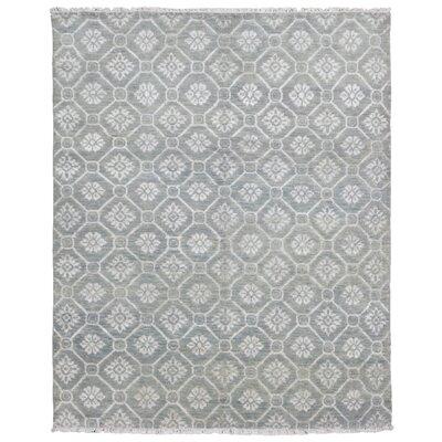 One-of-a-Kind Maribel Turkish Oriental Hand Woven Wool Gray Area Rug
