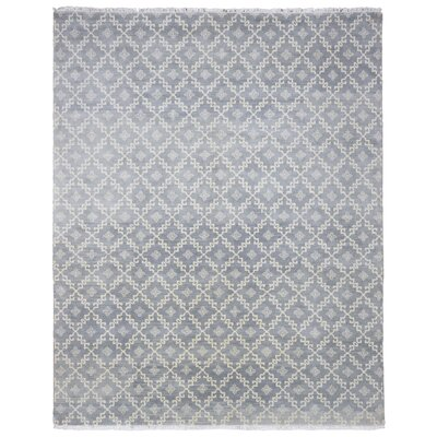 One-of-a-Kind Maribel Turkish Oriental Hand Woven Wool Gray Area Rug
