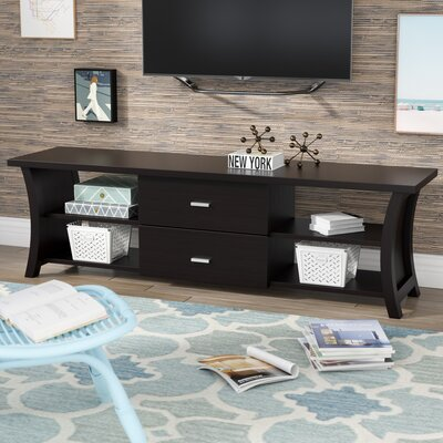 Pendarvis 72 TV Stand Color: Cappuccino