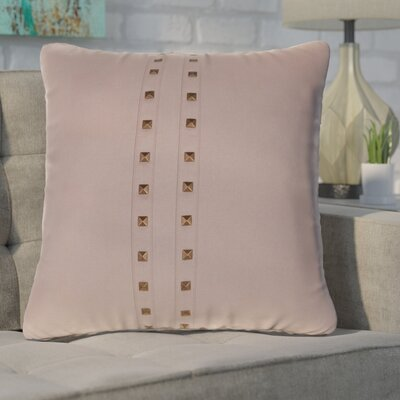 Bosworth Jessa Throw Pillow Color: Latte