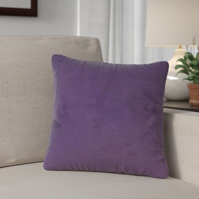 Mattingly Throw Pillow Size: 20 H x 20 W x 4 D, Color: Eggplant