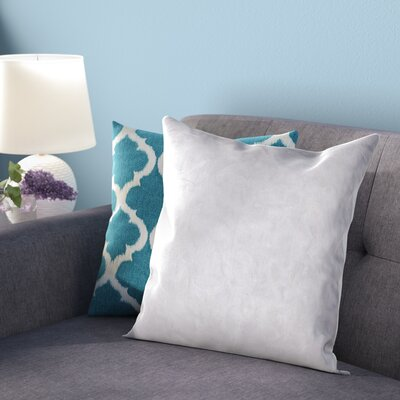 Super Soft Feather Pillow Insert Size: 9 x 9