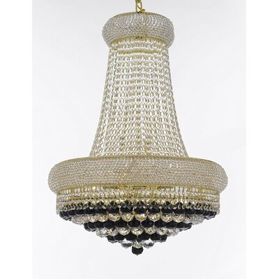 Bautista 15-Light Empire Chandelier Finish: Gold