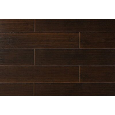 Kymani 7 x 48 x 12mm Hickory Laminate Flooring in Dark Ebony