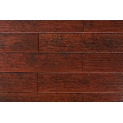 7 x 48 x 12mm Hickory Laminate Flooring in Nirwana Red