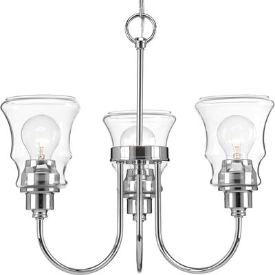 Himes 3-Light Semi Flush Mount