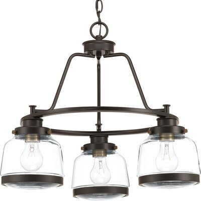 Murguia 3-Light Mini Chandelier Color: Antique Bronze