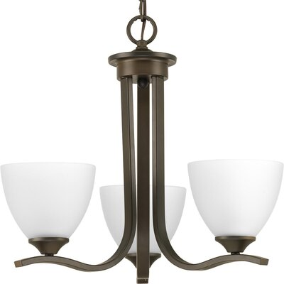 Van Reipen 3-Light Mini Chandelier Finish: Antique Bronze