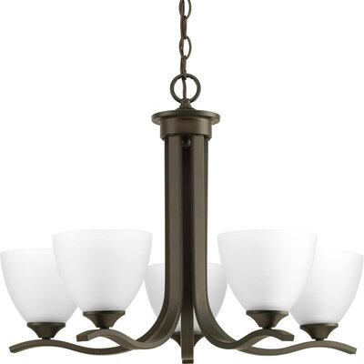 Van Reipen 5-Light Candle-Style Chandelier Finish: Antique Bronze