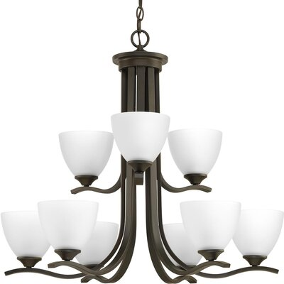 Van Reipen 9-Light Candle-Style Chandelier Finish: Antique Bronze