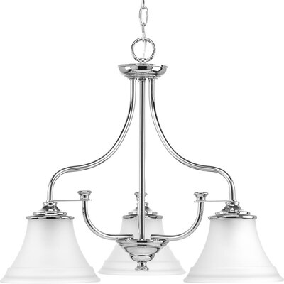Perot 3-Light Cluster Pendant Finish: Polished Chrome