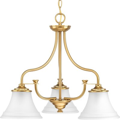 Perot 3-Light Cluster Pendant Finish: Brushed Bronze