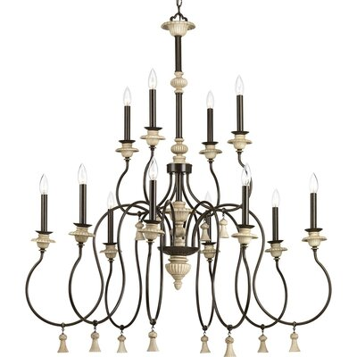 Kanode 12-Light Candle-Style Chandelier