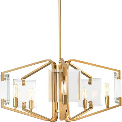 Janessa 5-Light Candle-Style Chandelier