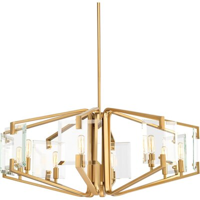 Janessa 8-Light Candle-Style Chandelier
