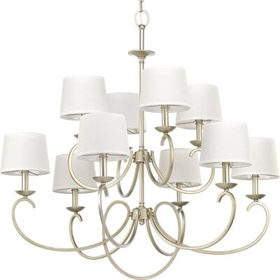 Harriss 10-Light Drum Chandelier