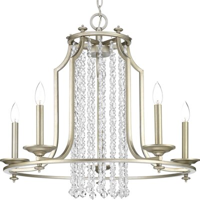 Joines 5-Light Candle-Style Chandelier