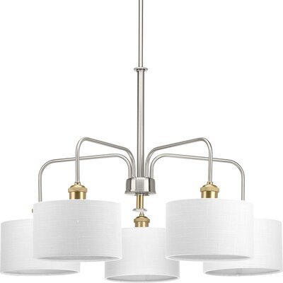 Jamiya 5-Light Drum Chandelier