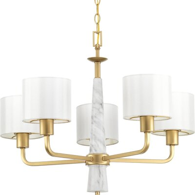Jancis 5-Light Drum Chandelier
