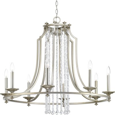 Joines 8-Light Candle-Style Chandelier