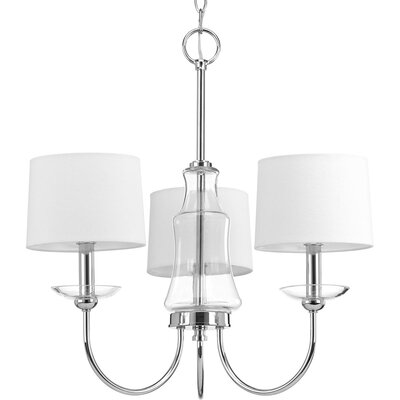 Himes 3-Light Candle-Style Chandelier
