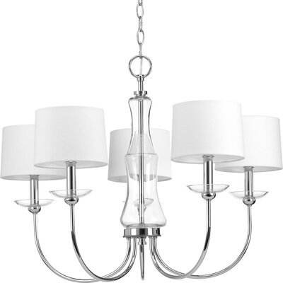 Himes 5-Light Candle-Style Chandelier