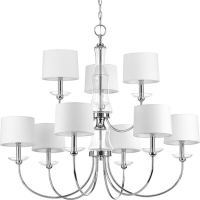 Himes 9-Light Candle-Style Chandelier