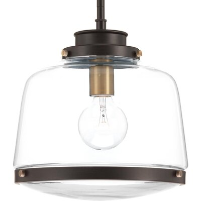 Murguia 1-Light Mini Pendant Color: Antique Bronze