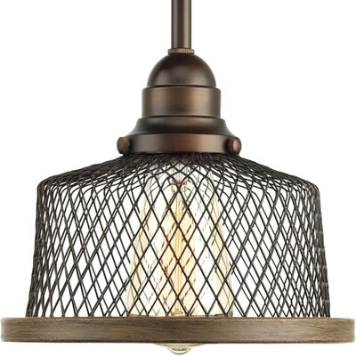 Murillo 1-Light Drum Pendant Color: Antique Bronze