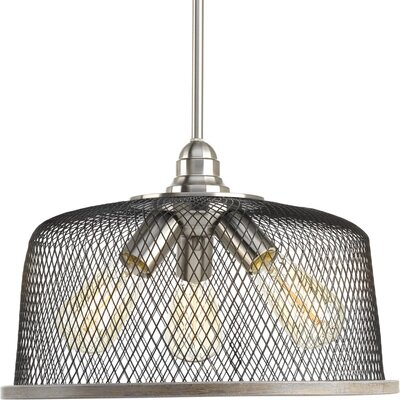 Murillo 3-Light Drum Pendant Color: Brushed Nickel