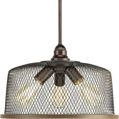 Murillo 3-Light Drum Pendant Color: Antique Bronze