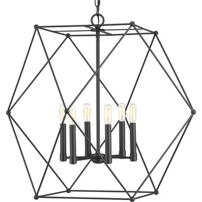 Cecere 6-Light Geometric Pendant