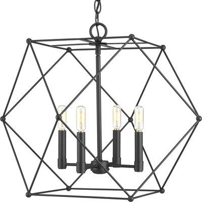 Cecere 4-Light Geometric Pendant