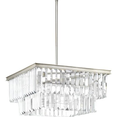 Eggar 4-Light Pendant Finish: Silver Ridge