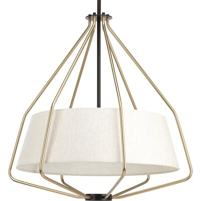 Geib 3-Light Foyer Pendant Finish: Antique Bronze