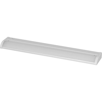 LED 18 Under Cabinet Bar Light Finish: Satin White