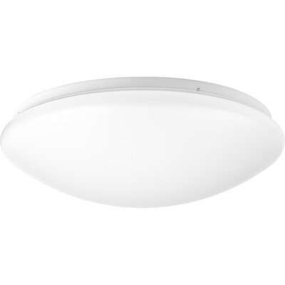 Mccullum 1-Light LED Flush Mount Size: 4.13 H x 13.63 W x 13.63 D
