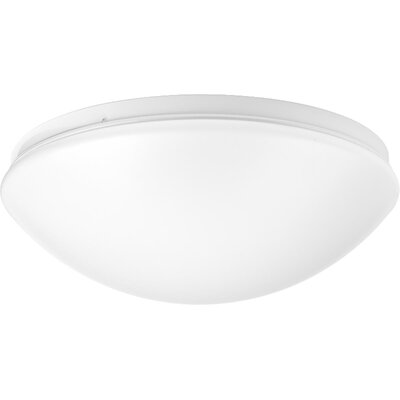 Mccullum 1-Light LED Flush Mount Size: 4 H x 10.63 W x 10.63 D