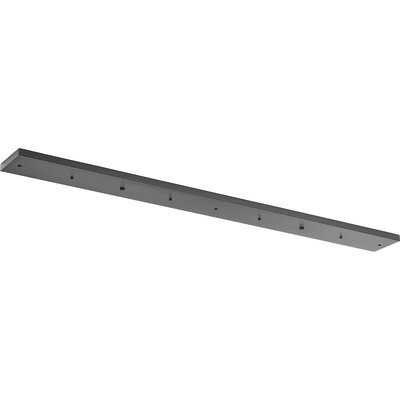 5-Light Canopy Accessory Ceiling Medallion Finish: Graphite