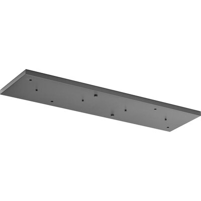 6-Light Canopy Accessory Ceiling Medallion Finish: Graphite