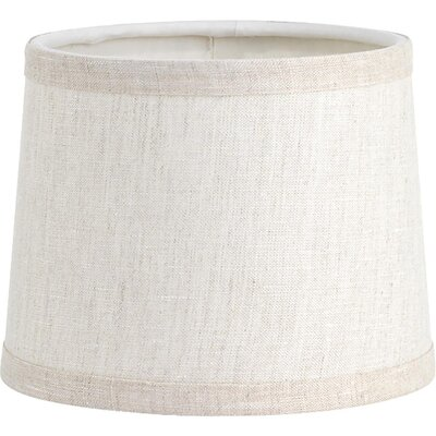 6.75 Linen Empire Lamp Shade Color: Vintage Linen