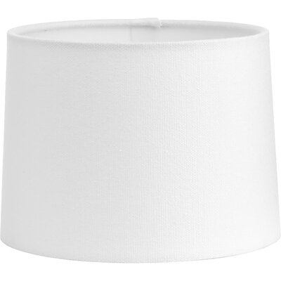 6.75 Linen Empire Lamp Shade Color: White Sailcloth