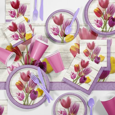 Beautiful Blossoms Floral Tableware Set DTC2880E2A
